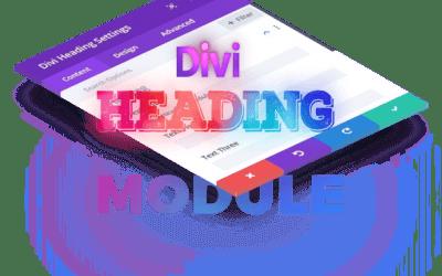Divi Heading Module